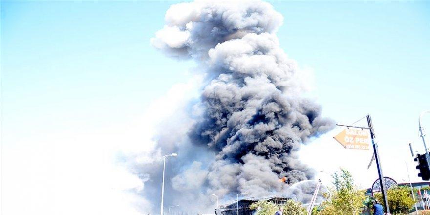 Yangında salınan gazların insanları etkileme riski düştü