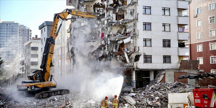 Kartal'da çöken Yeşilyurt Apartmanı davasında tahliye