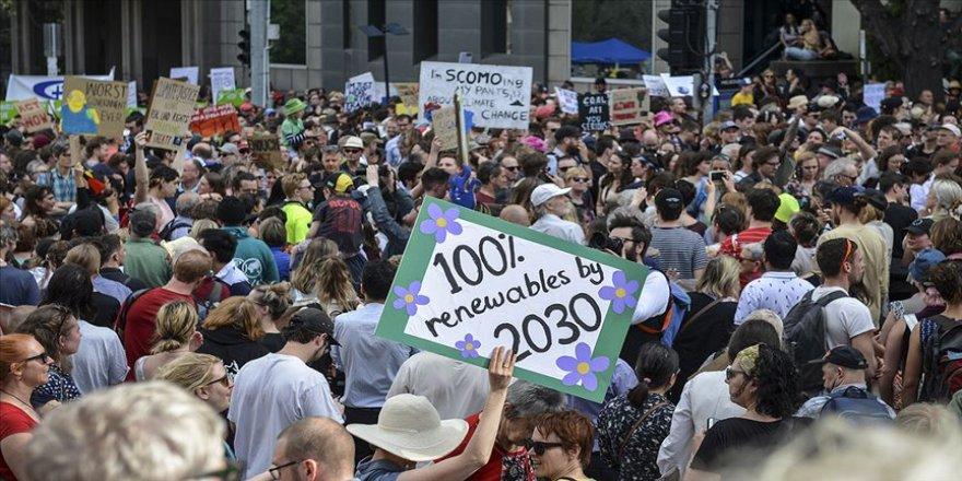 Avustralya'da yüz binler iklim için yürüdü