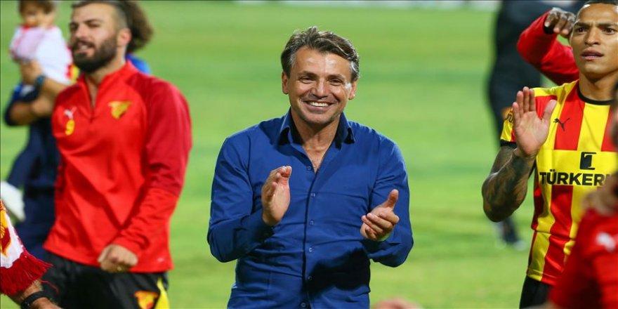 Göztepe Teknik Direktörü Tamer Tuna: Kazanmış olmak, gol atmış olmak önemliydi