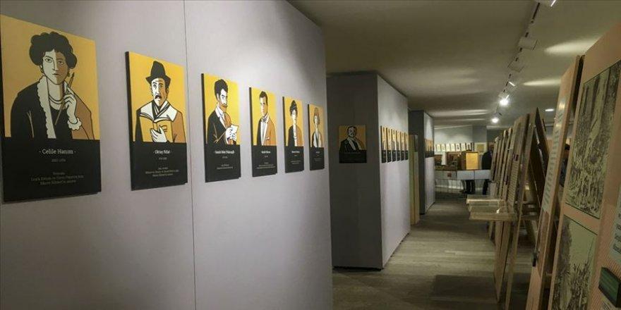 Nazım'a Yolculuk' sergisi Ankara'da sanatseverlerle buluştu