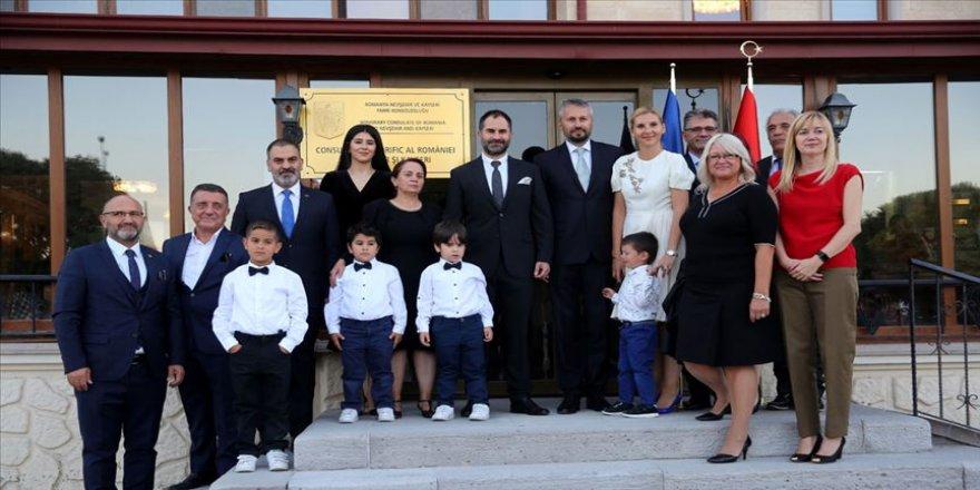 Romanya'nın Nevşehir-Kayseri Fahri Konsolosluğu açıldı