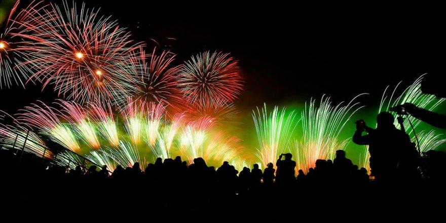 Moskova'da Işık Çemberi Festivali
