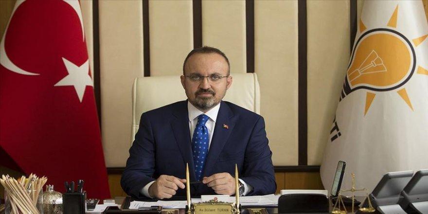 AK Parti Grup Başkanvekili Turan: Yargıya güvenin arttığı bir hukuk sistemi önceliğimiz