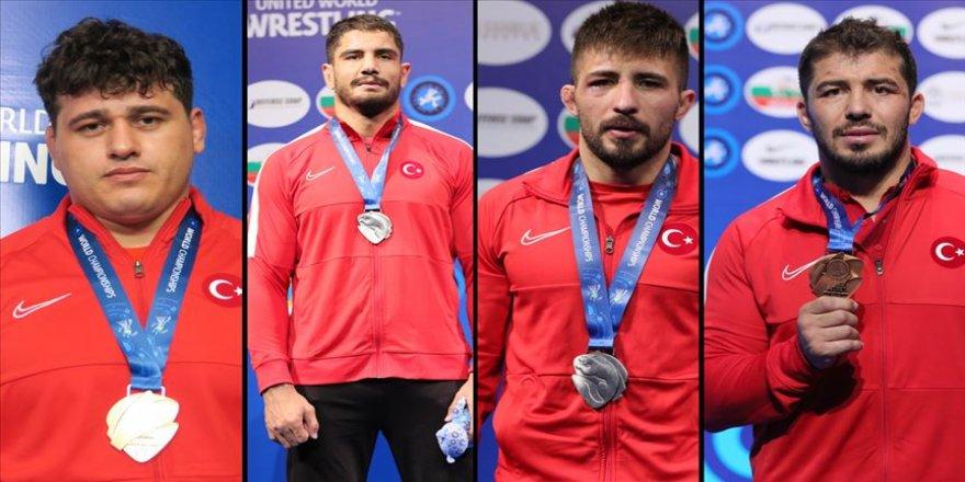 Türkiye şampiyonayı 4 madalya ile tamamladı
