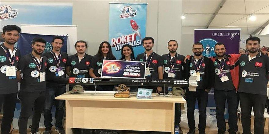 PAÜ takımının 'TEKNOFEST İstanbul' başarısı