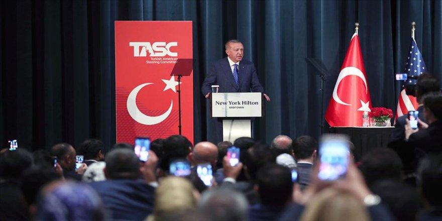 Erdoğan ABD Müslüman toplumunun temsilcileriyle bir araya geldi