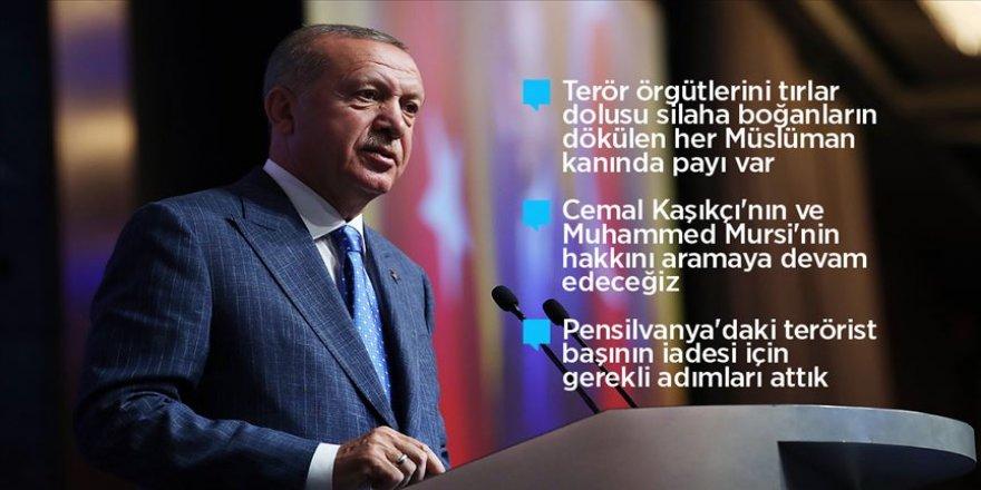 Cumhurbaşkanı Erdoğan ABD'deki Türk, soydaş ve Müslüman toplumuyla bir araya geldi
