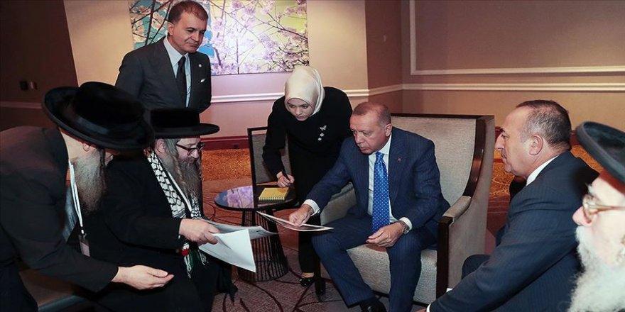 Cumhurbaşkanı Erdoğan Siyonizme Karşı Yahudiler Birliği heyetini kabul etti