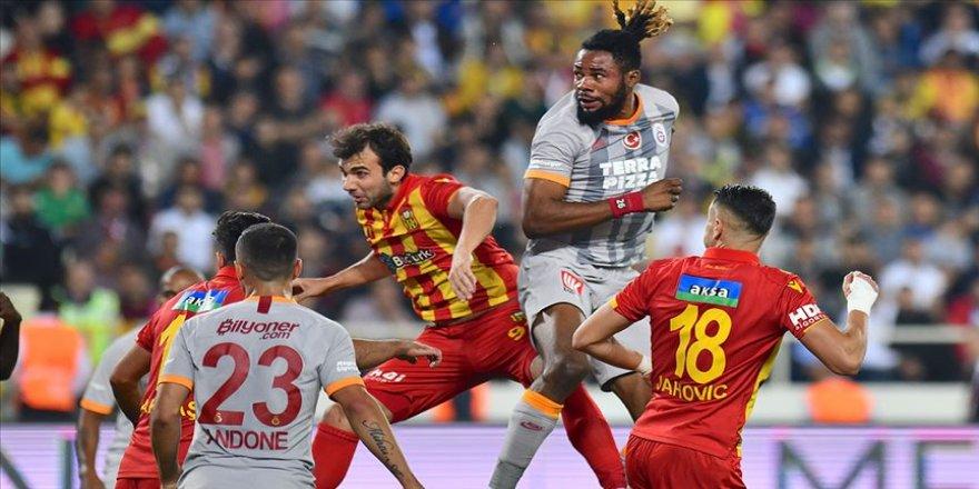 Yeni Malatyaspor Galatasaray serisini sürdürdü