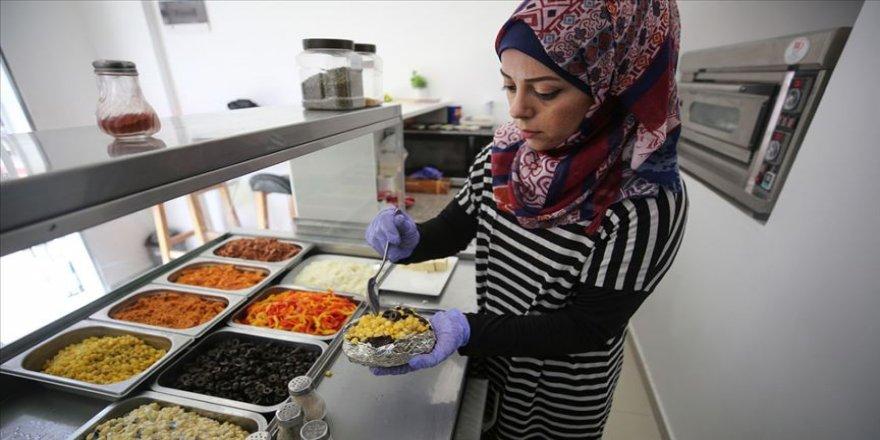 İstanbul'un meşhur sokak lezzeti kumpir artık Gazze'de