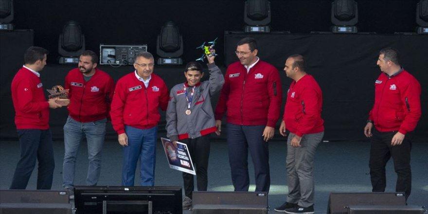 Dünya drone şampiyonları TEKNOFEST'te belli oldu