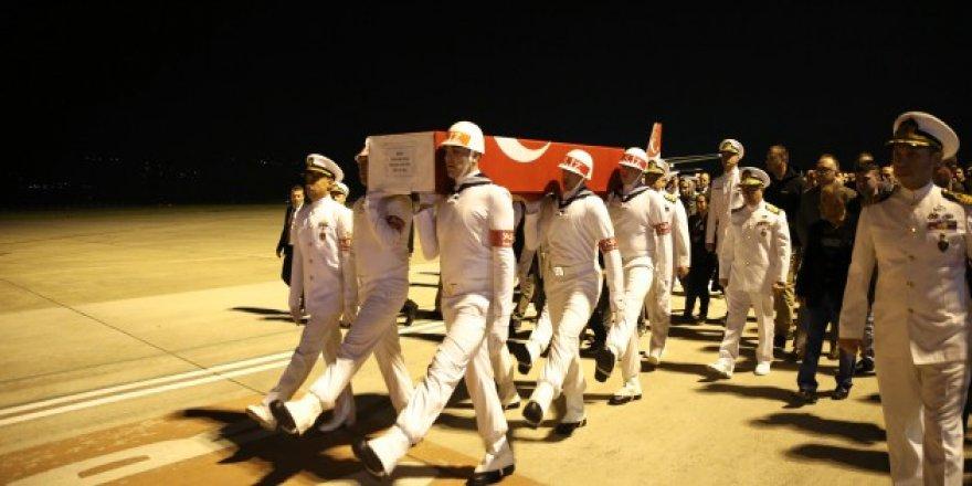 Şehidin cenazesi Kocaeli'ye getirildi!