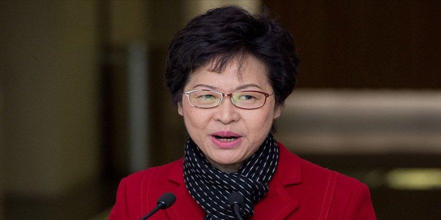 Hong Kong Baş Yöneticisi Lam 'toplumsal diyalogdan' umutlu