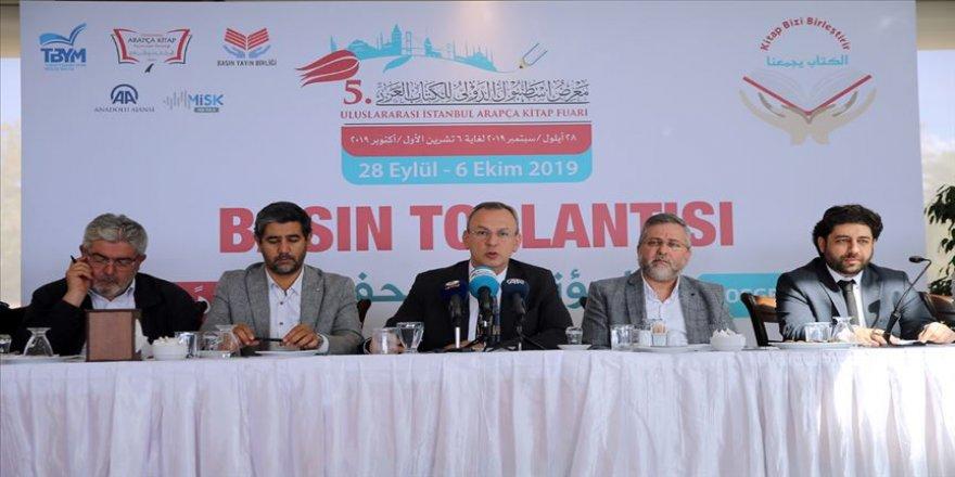 5. Uluslararası İstanbul Arapça Kitap Fuarı'nın detayları belli oldu