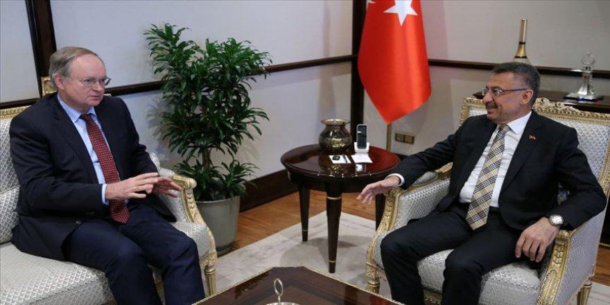 Oktay AB Türkiye Delegasyonu Başkanı Berger'i kabul etti