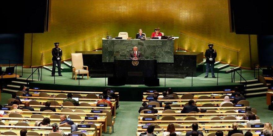 Ürdün Kralı Abdullah'tan Filistin'de 'iki devletli çözüm' vurgusu