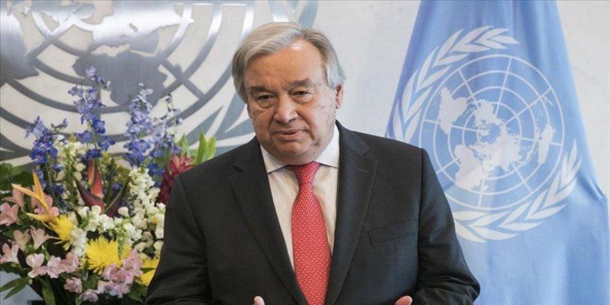 BM Genel Sekreteri Guterres ekim sonunda Türkiye'yi ziyaret edecek