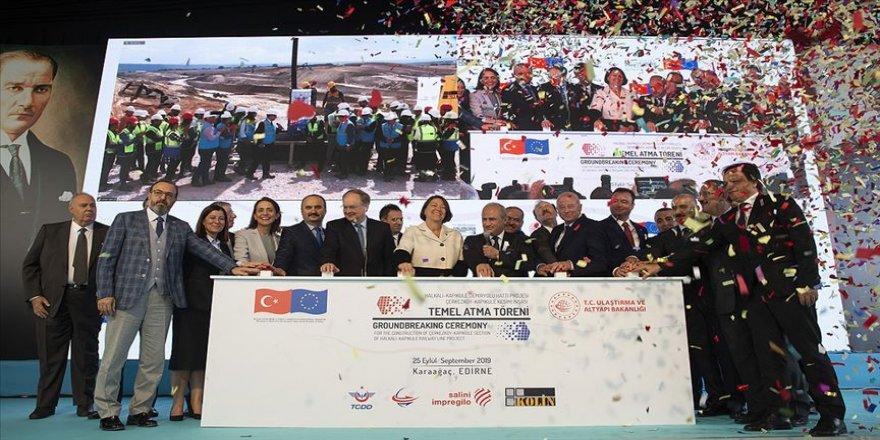 'Halkalı-Kapıkule Demiryolu Hattı Türkiye'nin AB'ye bağlanmasını simgeliyor'