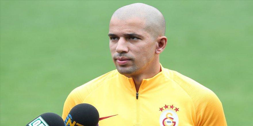 Galatasaraylı Feghouli: Taraftarlarımız için bu maçı kazanmak istiyoruz