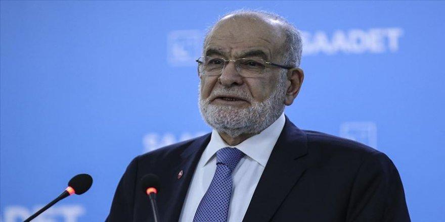 Saadet Partisi Genel Başkanı Karamollaoğlu: Cumhurbaşkanının ortaya koyduğu tavrı önemsiyoruz