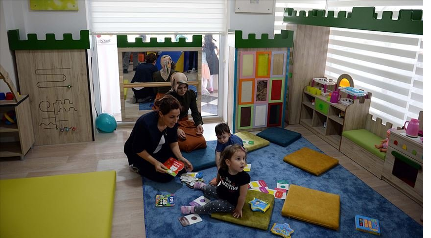 Türkiye'nin ilk 'Bebek ve Çocuk Kütüphanesi' hizmete girdi