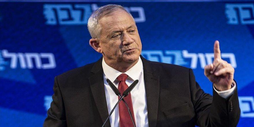 Gantz Netanyahu'nun hükümetine katılmayı reddetti