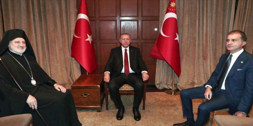 Cumhurbaşkanı Erdoğan, Elpidophoros'u kabul etti