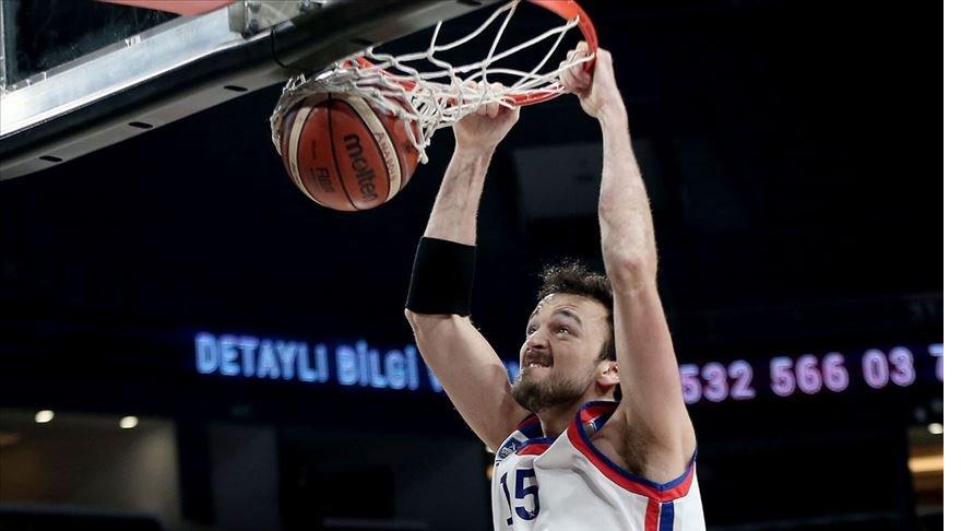 Anadolu Efes'in milli basketbolcusu Şanlı: THY Avrupa Ligi'nde kupayı almak istiyoruz