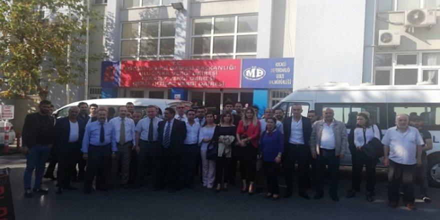 Gebze Vergi Dairesi, Depremden dolayı boşaltıldı!