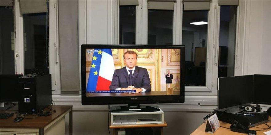Macron'dan 'Jacques Chirac' açıklaması