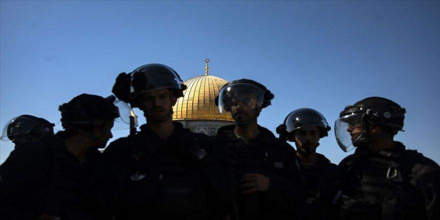 Filistin'den Mescid-i Aksa'nın kapılarının kapatılmasına tepki