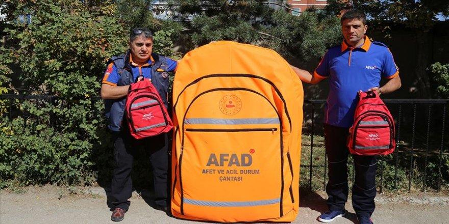Deprem ve afet sonrası hayat kurtaran çanta: 'Afet çantası'