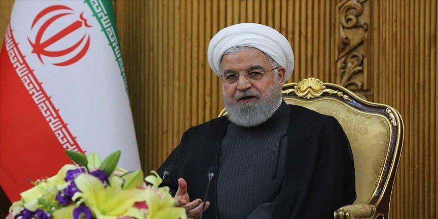 İran Cumhurbaşkanı Ruhani: ABD, AB liderleri üzerinden müzakere için mesaj gönderdi