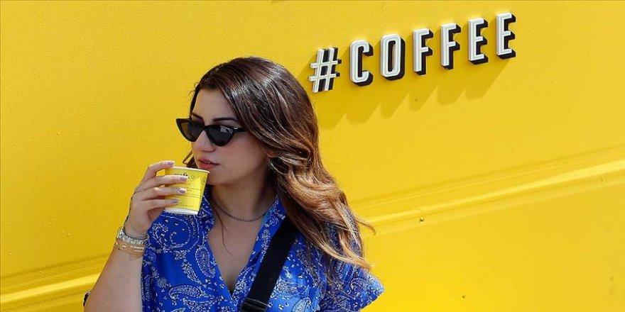 Kahve tiryakileri festivalde buluştu