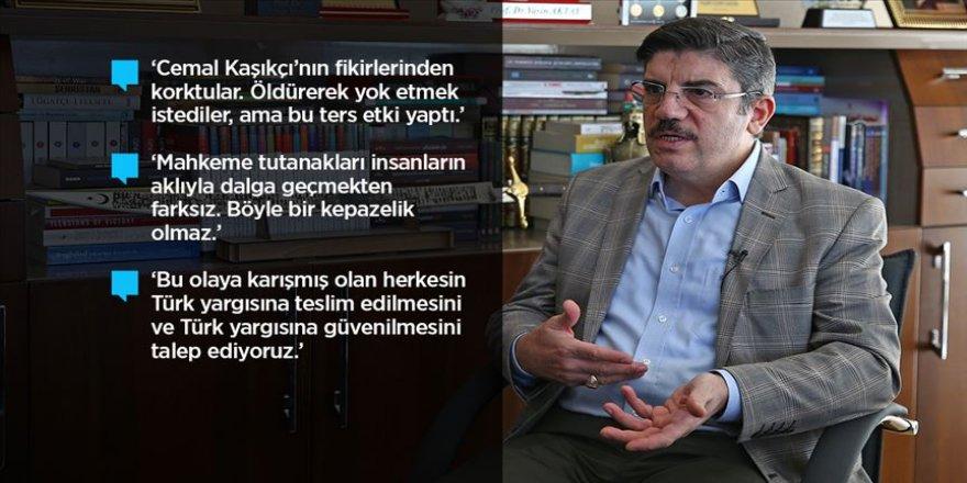 Yasin Aktay, yakın arkadaşı Cemal Kaşıkçı'yı anlattı