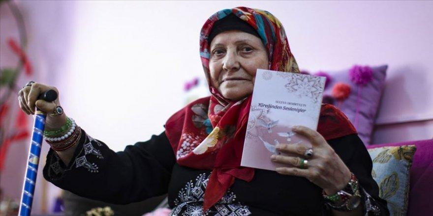 Huzurevinde yazdığı şiirleri 82 yaşında kitaplaştırdı