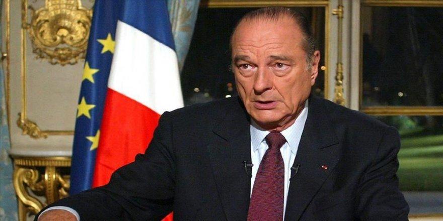 Fransa'nın eski Cumhurbaşkanı Chirac için cenaze töreni