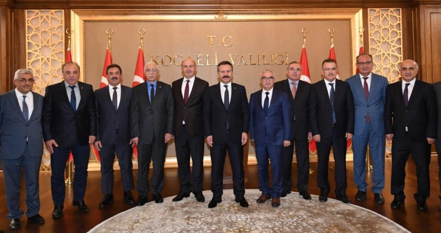 Değerlendirme Toplantısı,ValiHüseyin Aksoy'un Başkanlığında Gerçekleşti