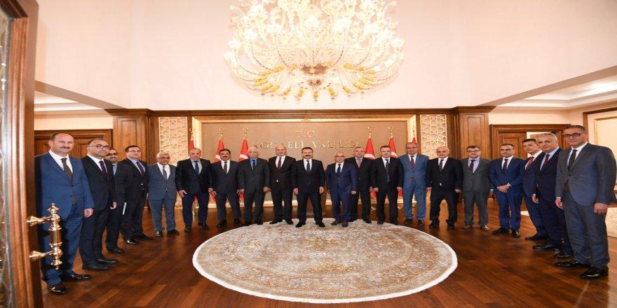 Vali Aksoy, kaymakamlarla toplantı yaptı