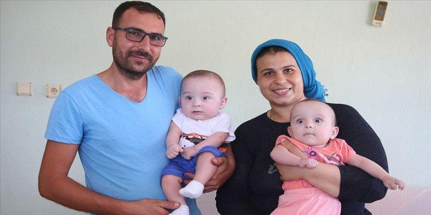 Prematüre bebekler Ali ve Serap inadına 'yaşam' dedi