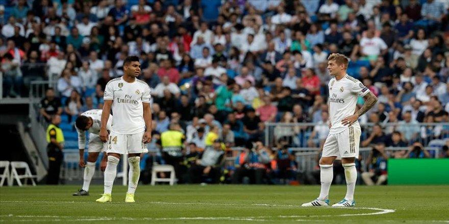 Real Madrid 1 puanı zor kurtardı