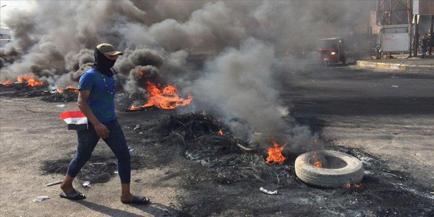 Bağdat'taki protestolar ikinci gününde sürüyor