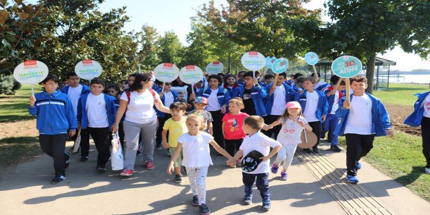 Kocaeli'de Dünya Yürüyüş Günü Etkinlikleri Gerçekleştirildi