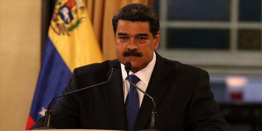 Venezuela Devlet Başkanı Maduro: BM'den insani yardım gelmedi