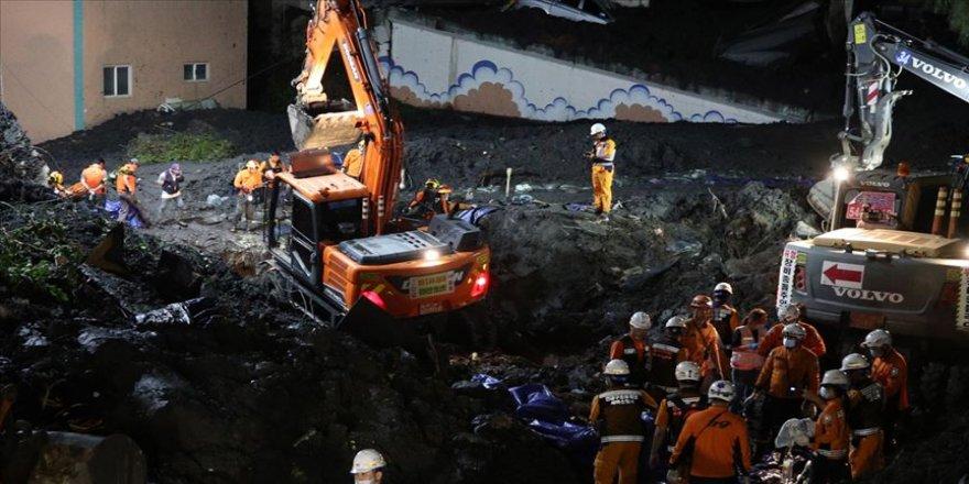 Güney Kore'deki Mitag tayfununda ölü sayısı 10'a çıktı