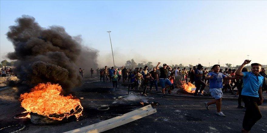 Irak'taki gösterilerde 35 kişi öldü