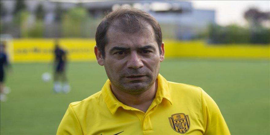 MKE Ankaragücü Teknik Direktörü Diyadin: Her maçı final havasında oynamak niyetindeyiz