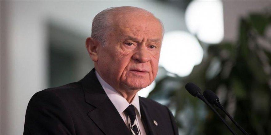 MHP Genel Başkanı Bahçeli: CHP Genel Başkanı için mahkeme yolu ardına kadar açılmıştır