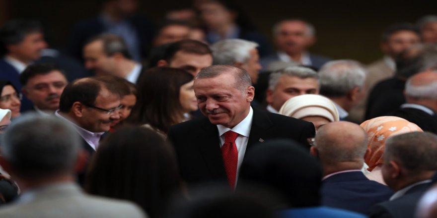 Erdoğan, Kızılcahamam kampında 40+1 tartışmalarına noktayı koydu